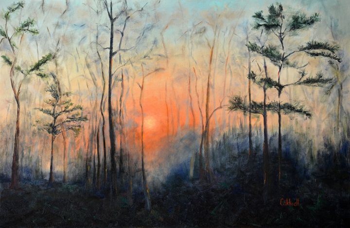 Sunrise at Pike Road - Caldwell Gallery