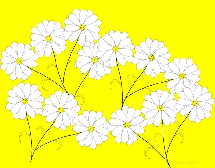 Sunny Flowers - Soutaine Jobson