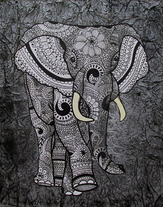 African Elephant - Henna Jivraj