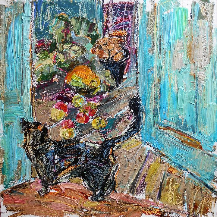 Autumn vegetables (with frame) - Valerie Lazareva