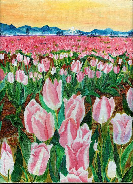 Tulip field - Alexander