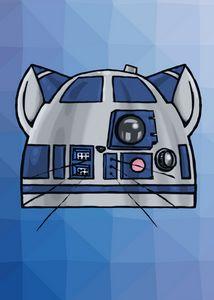 Kitten R2D2 Icon