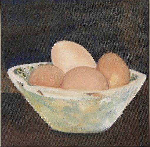 bowl of eggs - sallychantlerwise