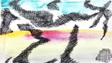 Watercolour, 24 cm x 17 cm,