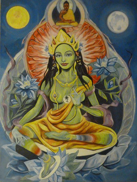 Green Tara 2012 - ahimsaka art