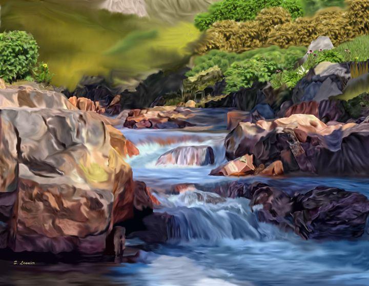 A River Runs - Sally Lannier Artist