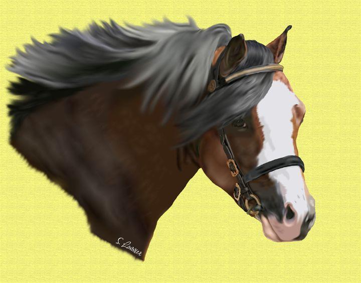 Champion Pony - Sally Lannier Artist