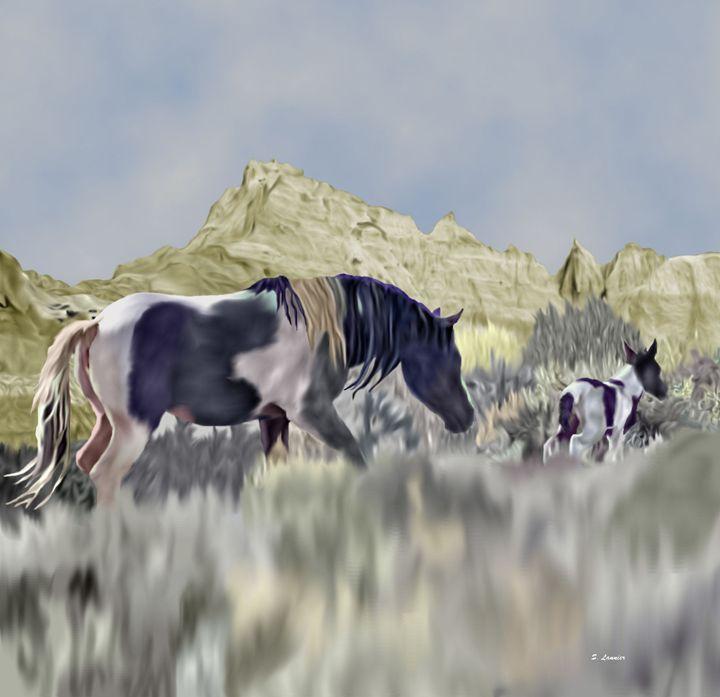 Wild and Free - Sally Lannier Artist