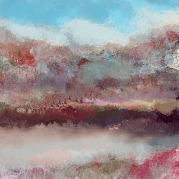 Pond on the Rocks - JHughes Works of Art
