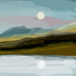 Southwestern Landscape - JHughes Works of Art