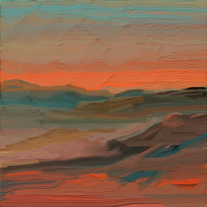 Southwestern Sky - JHughes Works of Art