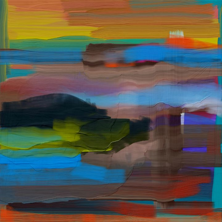 Southwestern Abstract - JHughes Works of Art