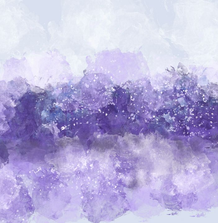 Choppy Ocean Water in Purple - JHughes Works of Art
