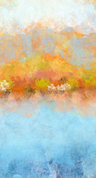Autumn Lake - JHughes Works of Art