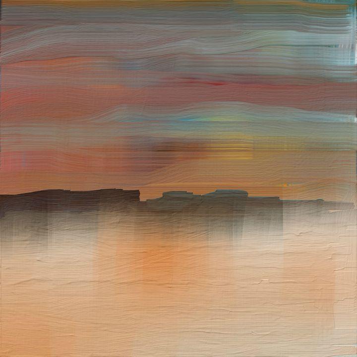 Desert Sunset - JHughes Works of Art