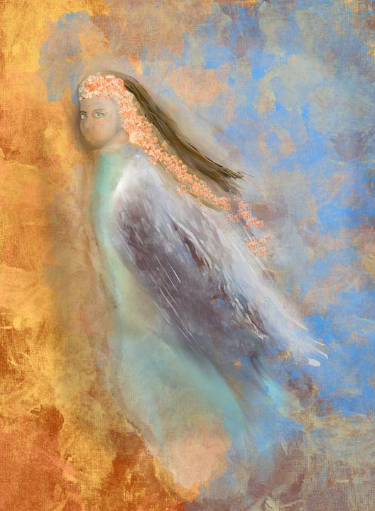 Blue Eyed Angel - JHughes Works of Art