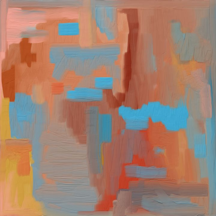 Southwestern Abstract Colors - JHughes Works of Art