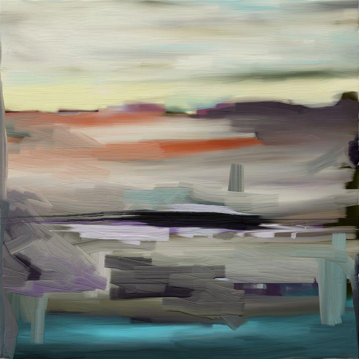 Desert Abstract - JHughes Works of Art