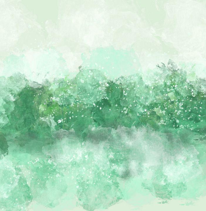 Choppy Ocean Water in Turquoise - JHughes Works of Art