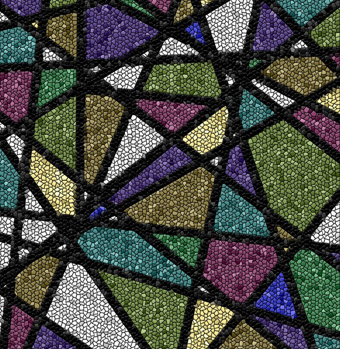 Stained Glass Mosaic Design - JHughes Works of Art