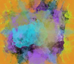 Blast of Colors Abstract - JHughes Works of Art