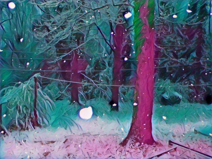 Christmas Snowy Night - Tania C