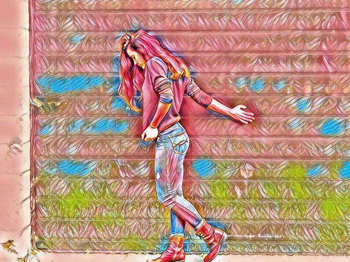 Colorful Lady - Tania C