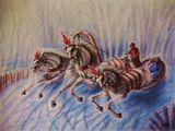 20x24 unframed watercolor
