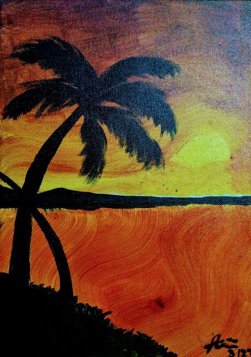 Sunset. - The Bopses Arts