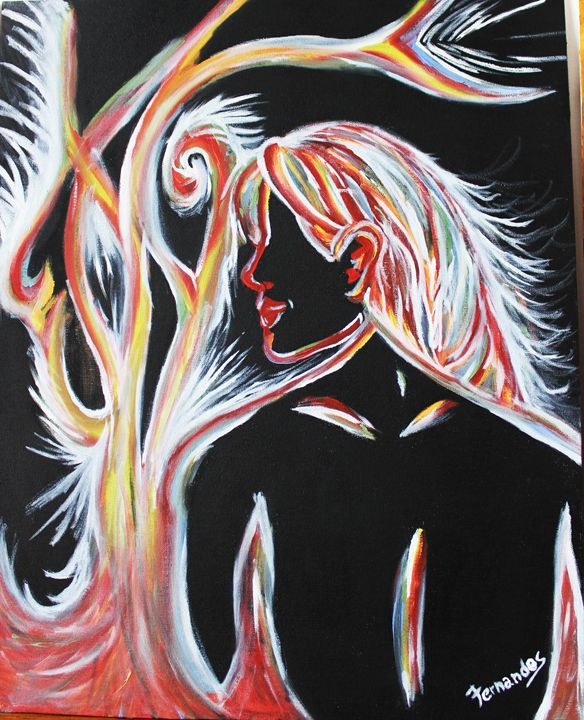 She - Fernandes Paintings