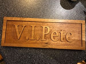 Desk or wall plaque