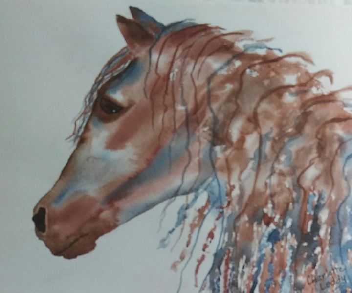 Andalusian Beauty - Charlotte Leddy Watercolor - Prints and Cards Only