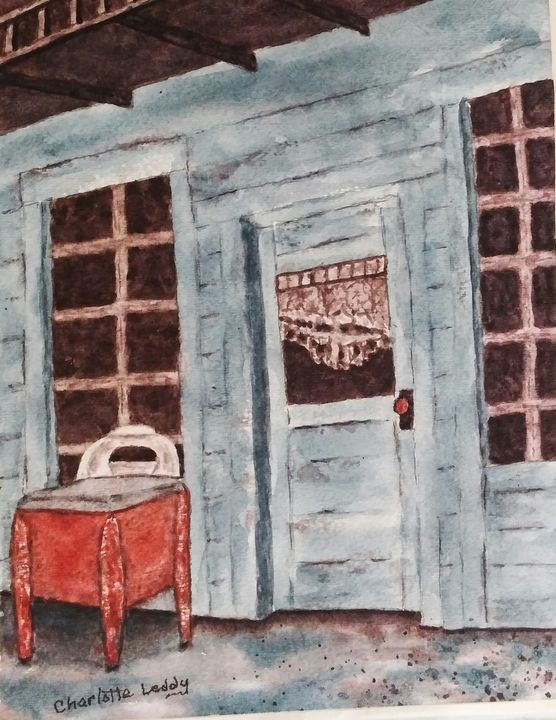 Abandoned Store - Charlotte Leddy Watercolor - Prints and Cards Only