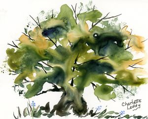 Tree of Life - Charlotte Leddy Watercolor - Prints