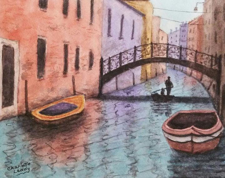 Venice Imagined - Charlotte Leddy Watercolor - Prints and Cards Only