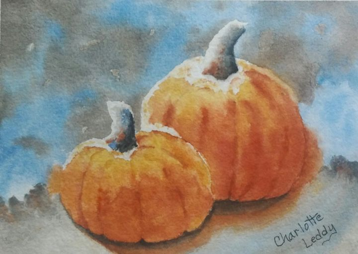 Happy Thanksgiving - Charlotte Leddy Watercolor - Prints and Cards Only