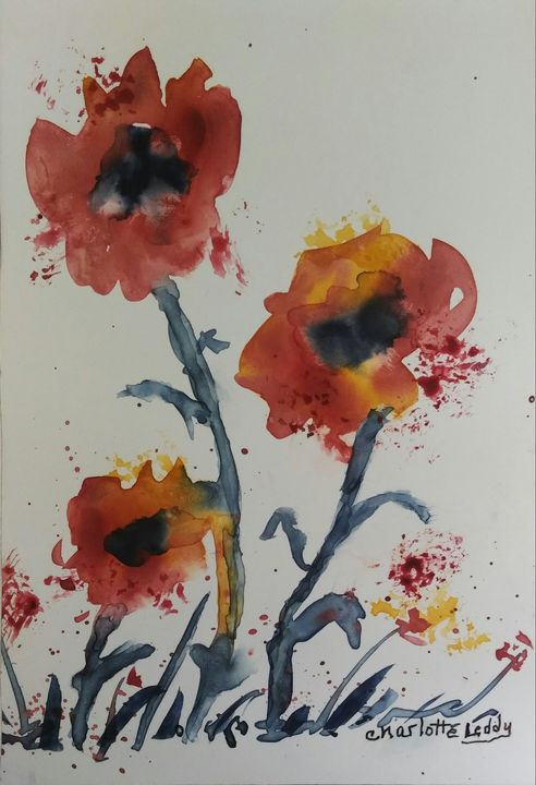Loose and Lovely - Charlotte Leddy Watercolor - Prints and Cards Only