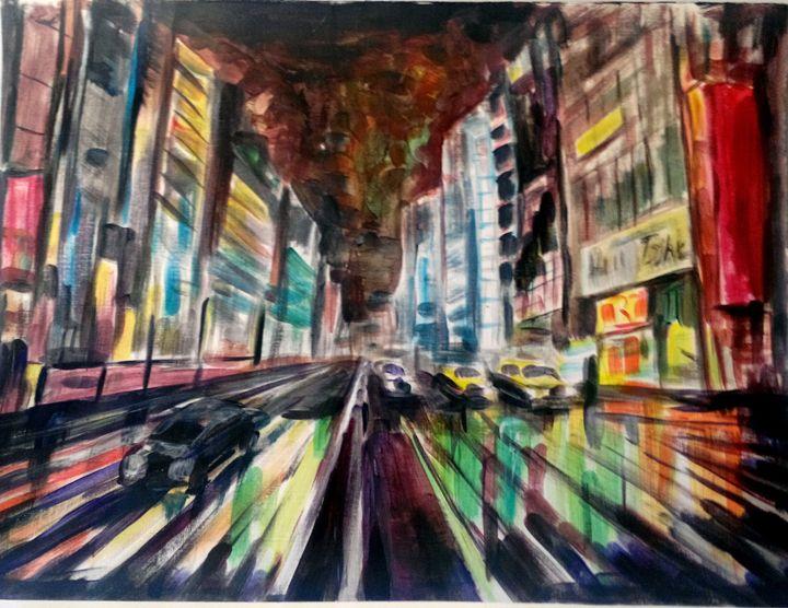 CITY IN LIGHTS - Beatris Milenko