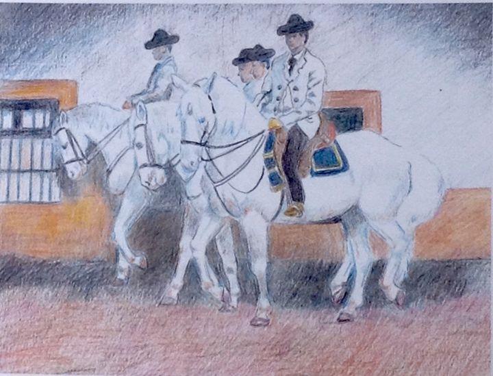 Spanish riding school - The Rabbit Hole Gallery