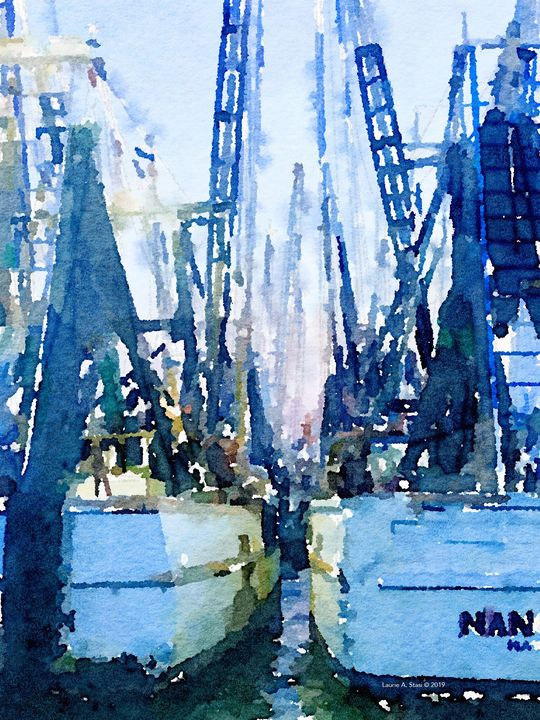 Cathedral of Masts - Stasi Art