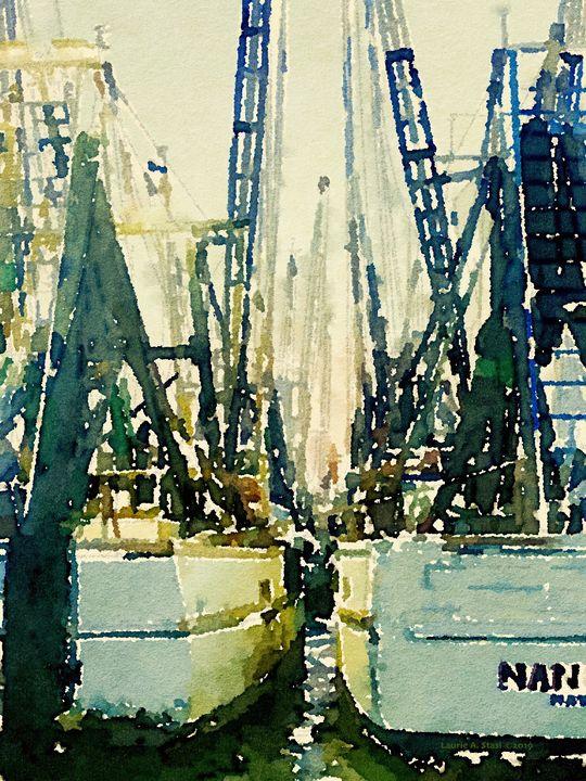 Masts and Rigging #1 - Stasi Art