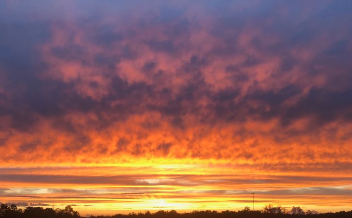 Iredell NC Sunset VI - Helping Hemppies by Amadis Dist
