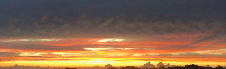 NC Piedmont Sunset I - Helping Hemppies by Amadis Dist