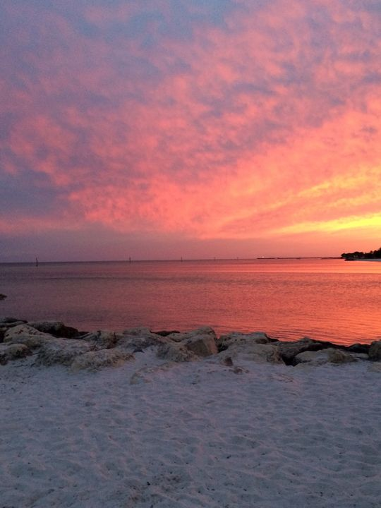 Key West Florida Sunset II - Helping Hemppies by Amadis Dist