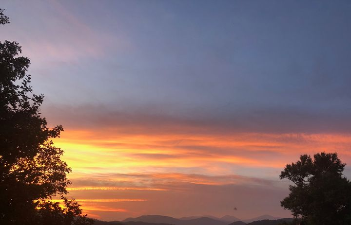 Iredell County Sunset VII - Helping Hemppies by Amadis Dist