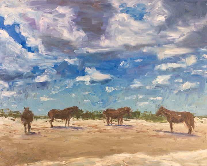 Basking - Lisa A. Zook Fine Art