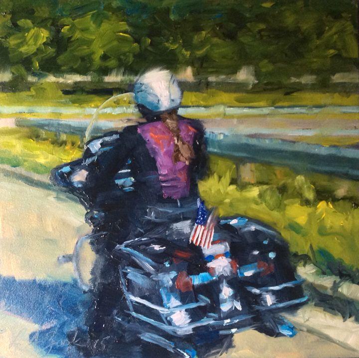 Summer Ride - Lisa A. Zook Fine Art