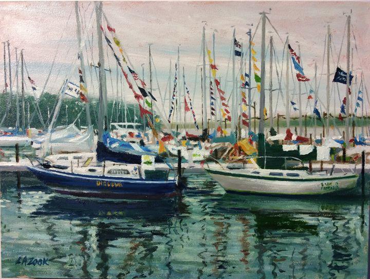 Docked - Lisa A. Zook Fine Art