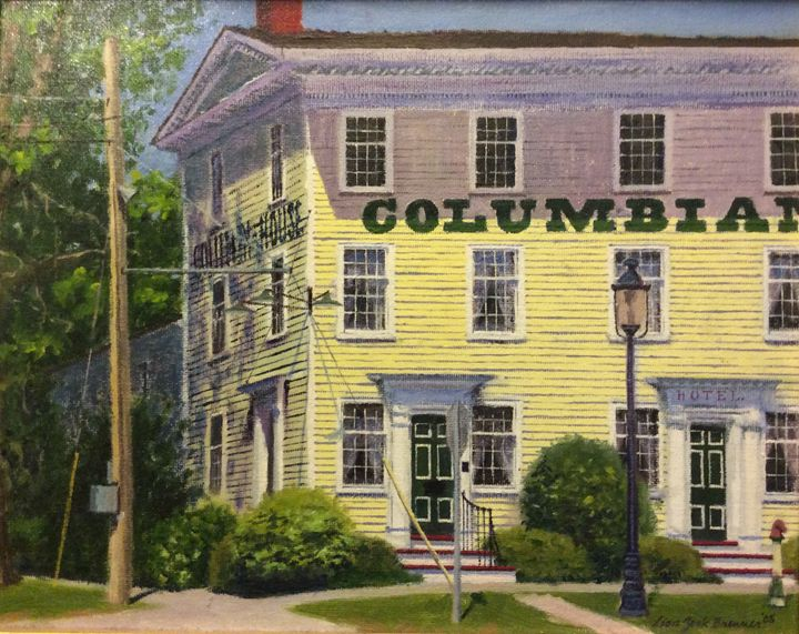 The Columbian House - Lisa A. Zook Fine Art