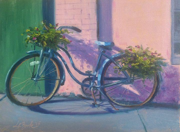 1 Hour Parking - Lisa A. Zook Fine Art